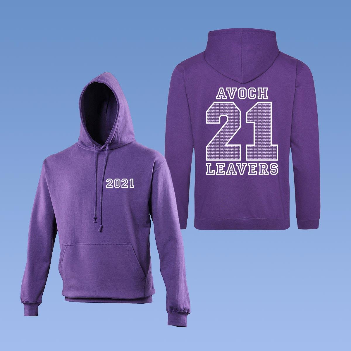 AvochLeavers Hoodies