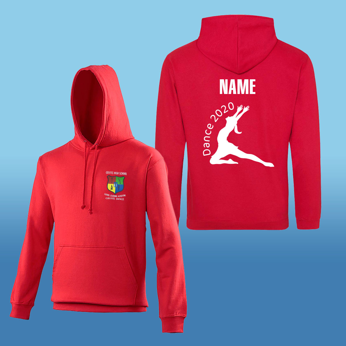 Gryffe High School Dance Hoodies