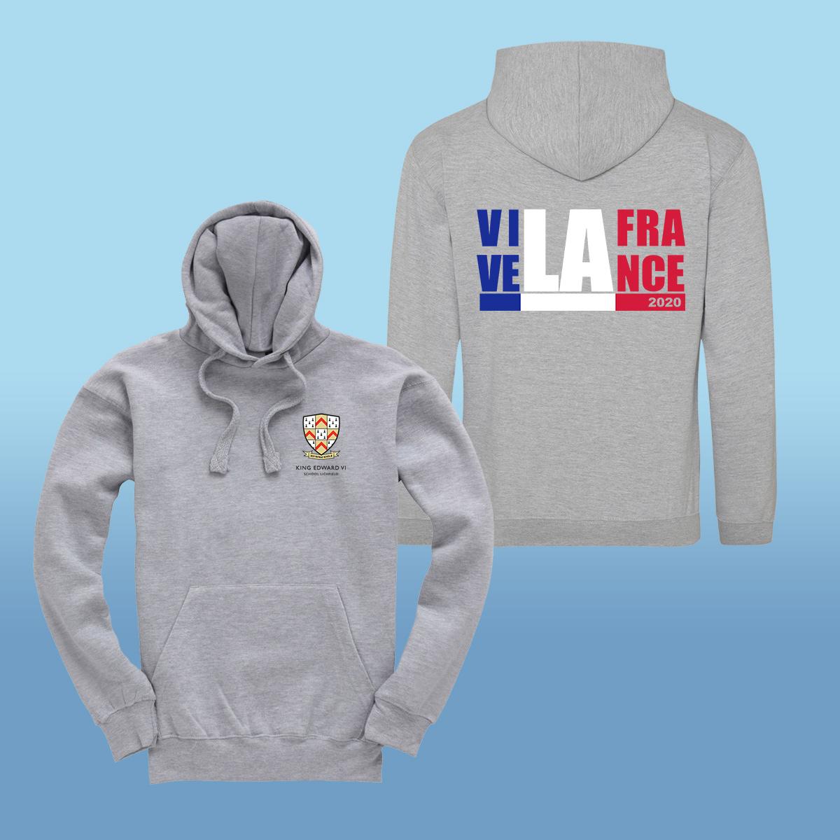 King Edward Vi School France Trip 2020 Hoodies