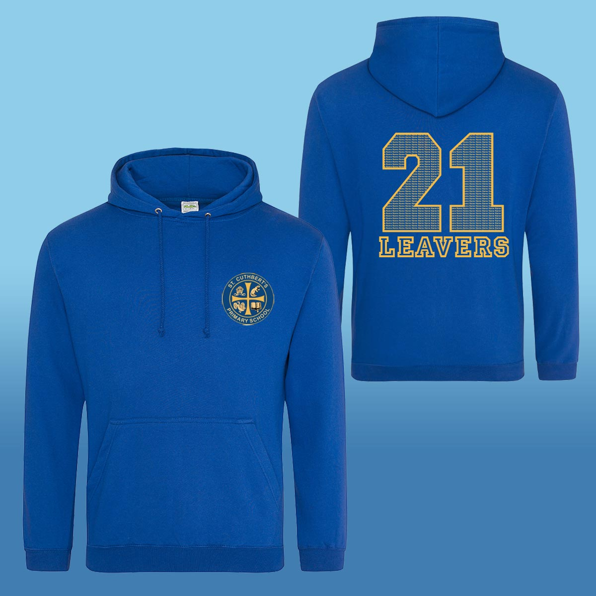 St Cuthberts RC Primary Leavers Hoodies