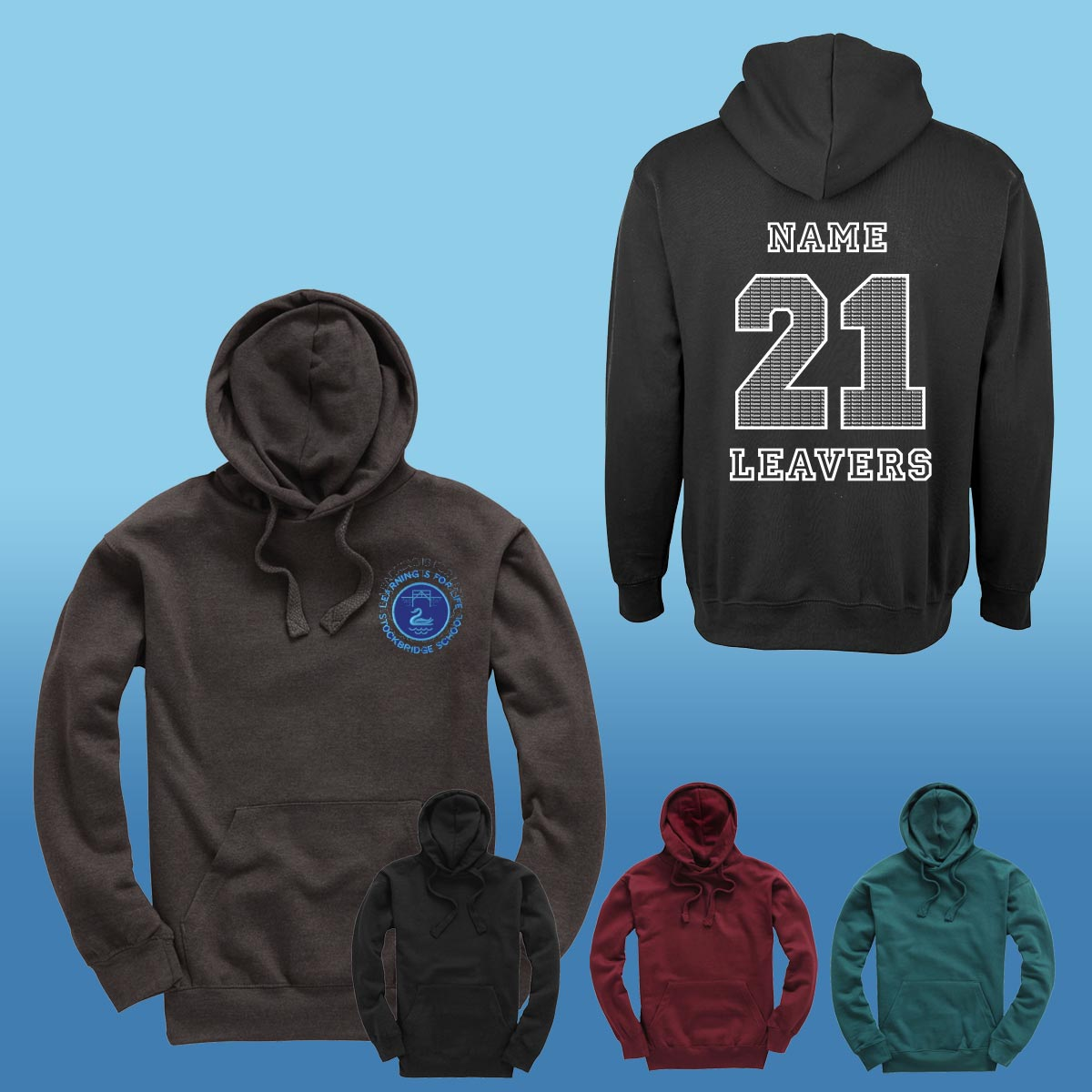 Stockbridge Primary Leavers Hoodies