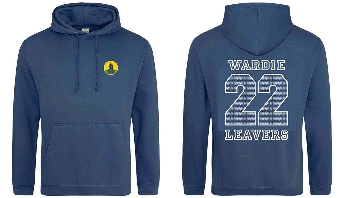 Wardie Primary 7 Leavers Hoodies