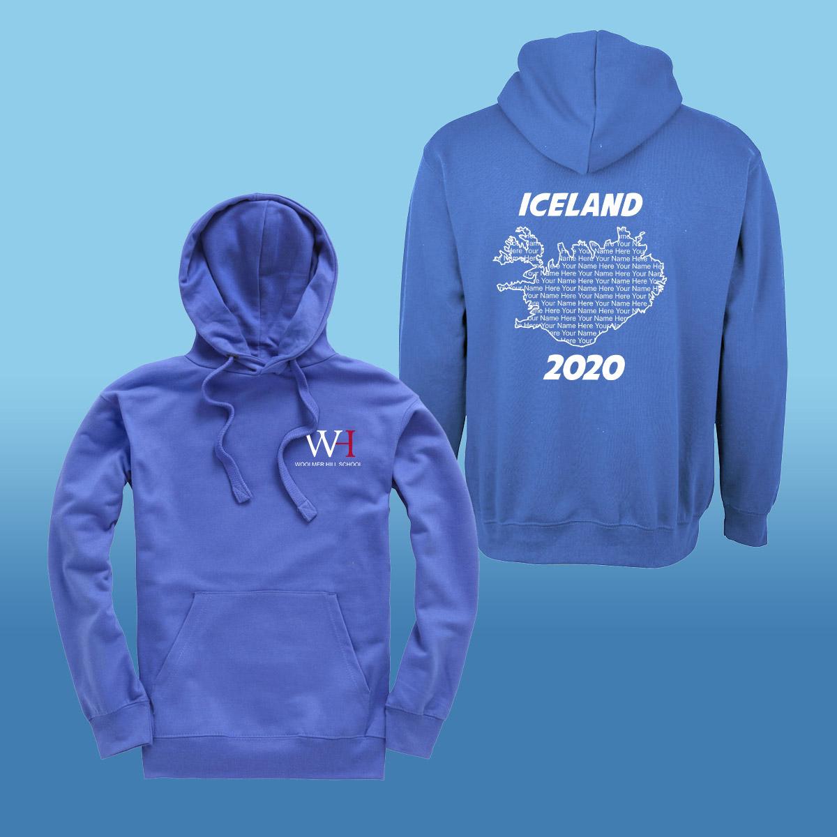 Woolmer School Iceland Trip Hoodies