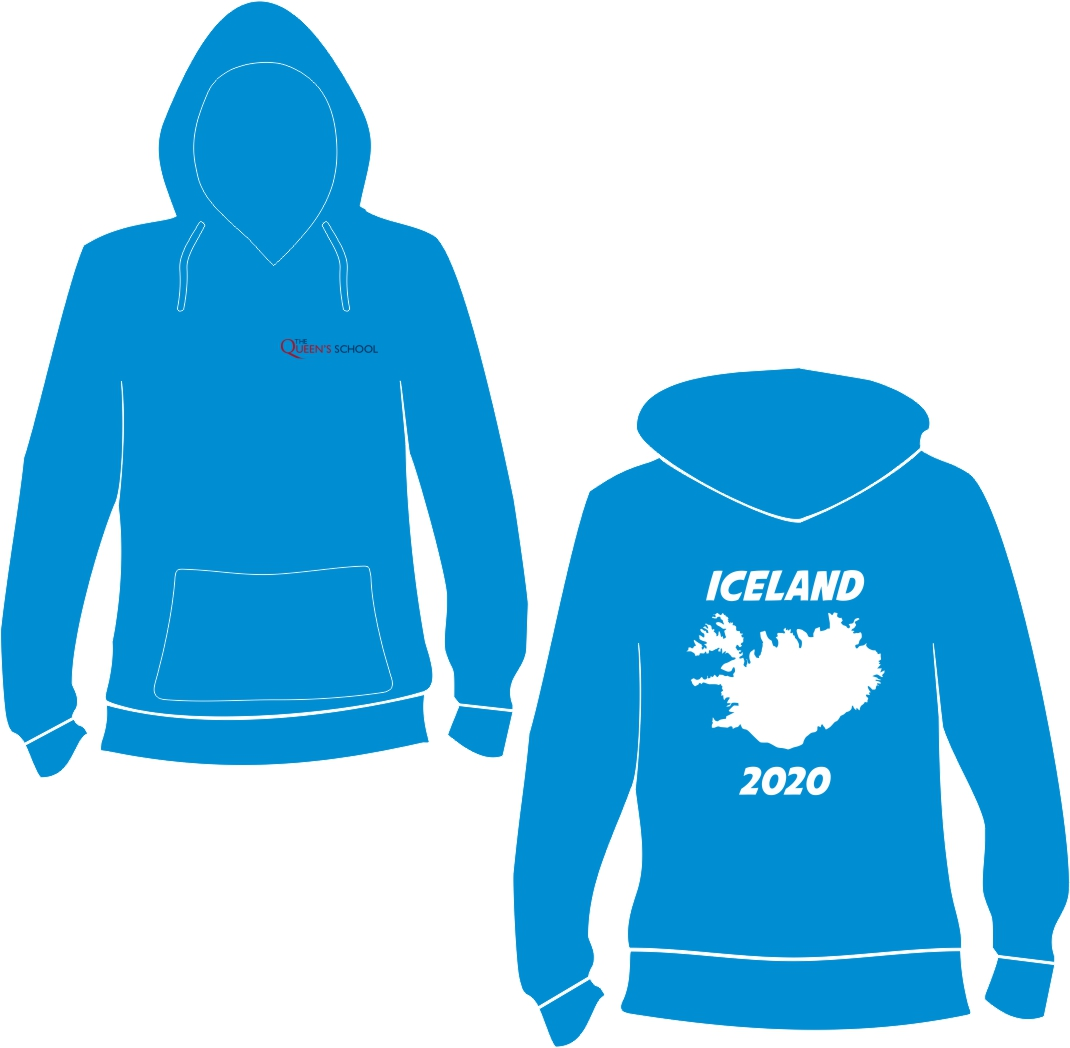 Queens School Iceland Trip Hoodies