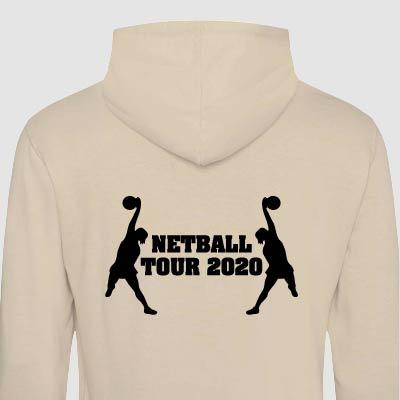 Netball Tour Hoodies