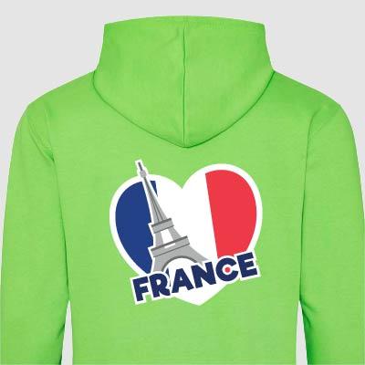 France Trip Hoodies