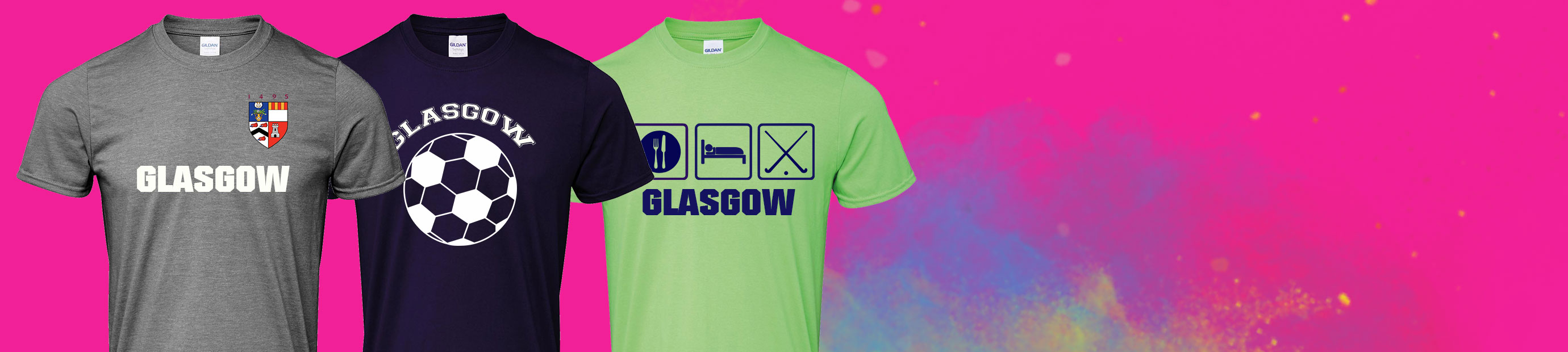 T-Shirt Printing in Glasgow