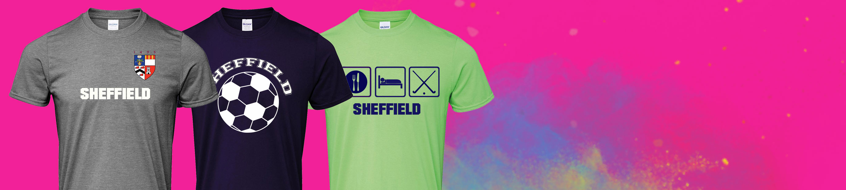 T-Shirt Printing in Sheffield